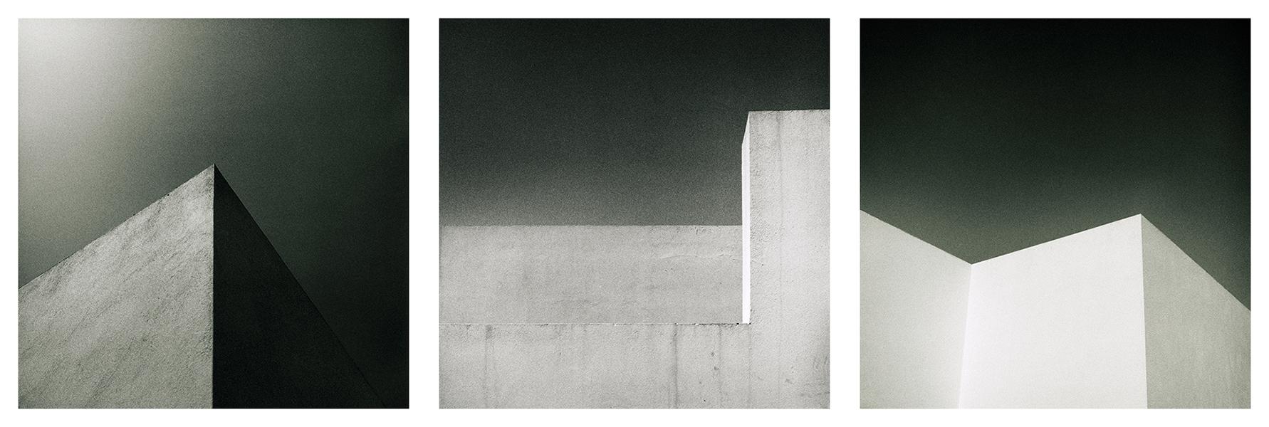 Davide Cossu_Minimalist House_Gran Canaria_triptych