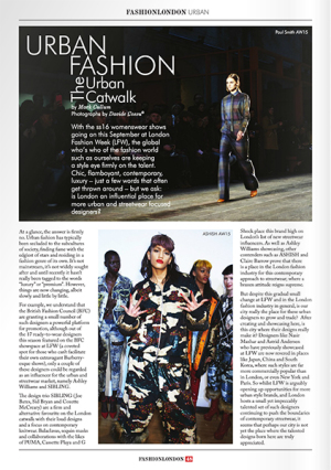 Fashion London Magazine LFW AW15